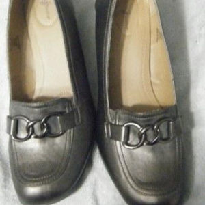 Bronze Brown Wedge Shoes 11M
